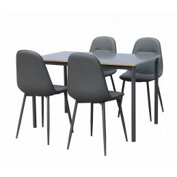 Ensemble table et 4 chaises...